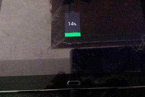 Результат - планшет работает и заряжается после замены разъема зарядки