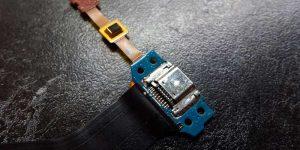 Так выглядит грамотно отремонтированный разъем зарядки на планшете Самсунг